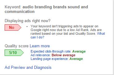 Quality Score Image