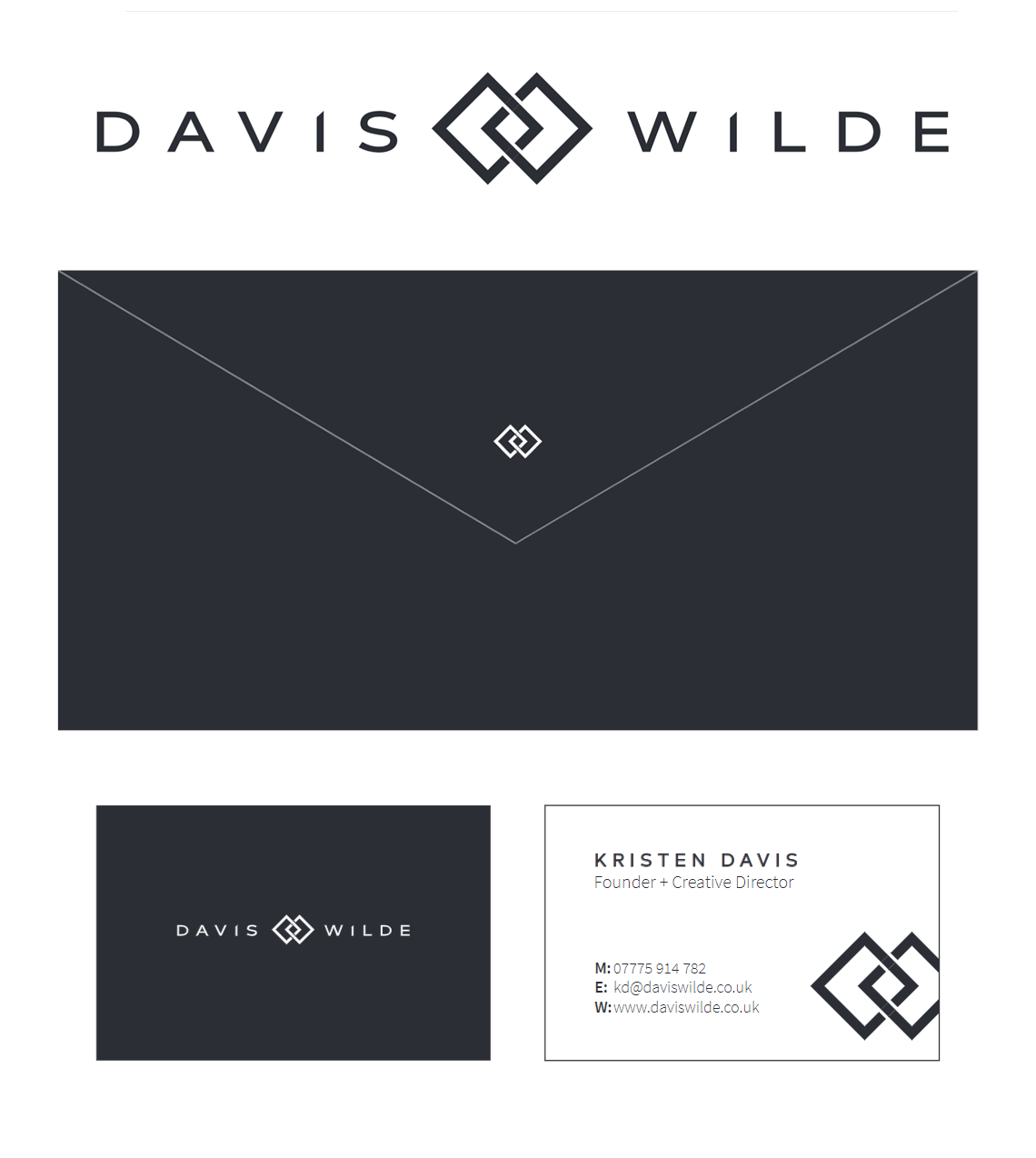 Davis Wilde Logo Branding Corporate Identity Design