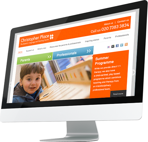 Web Design Agency creates WordPress Website for Speech and Language centre